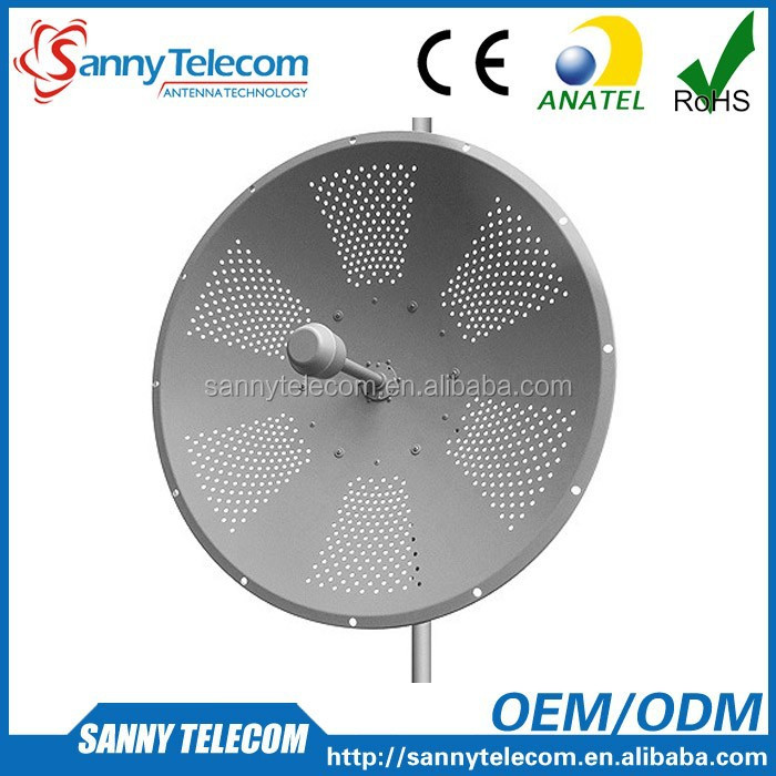 WiFi 2.4GHz 25dBi High Performance MIMO Dish Antenna