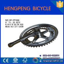 Mountain bike alloy bike bicycle parts forged sandy anodized crankset