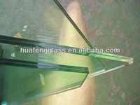 10mm,12mm,5+0.76PVB+5,6+0.76PVB+6 mm tempered laminated glass for fence, stairs,balustrade