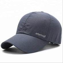 5% OFF quick dry outdoor baseball sports cap 100% polyester dri-fit running cap