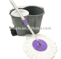 Easy Life Magic Spin and go Mop 360 H-D Bucket 2 Heads GREY