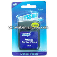 silk dental floss