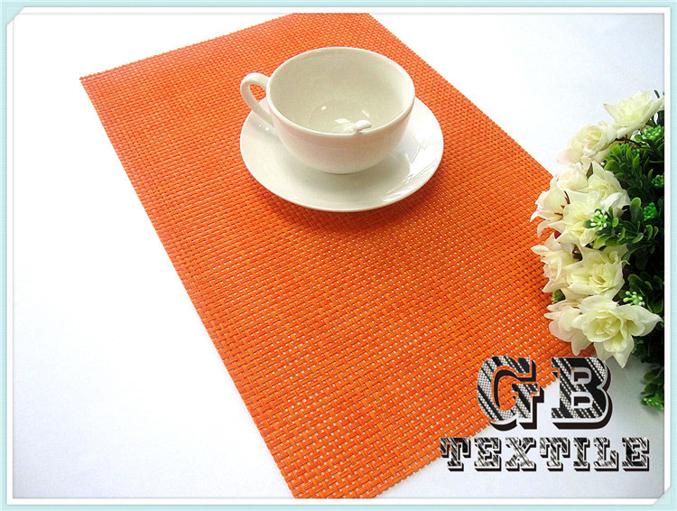 new products custom made woven placemats