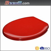 Ceramic one piece red color toilet seat for red toilet