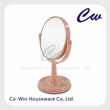 Eco-Friendly High Quality Plastic storage Round Bathroom Mirror Makeup LED Mirror Cosmetic Mirror Home/Hotel Decoration