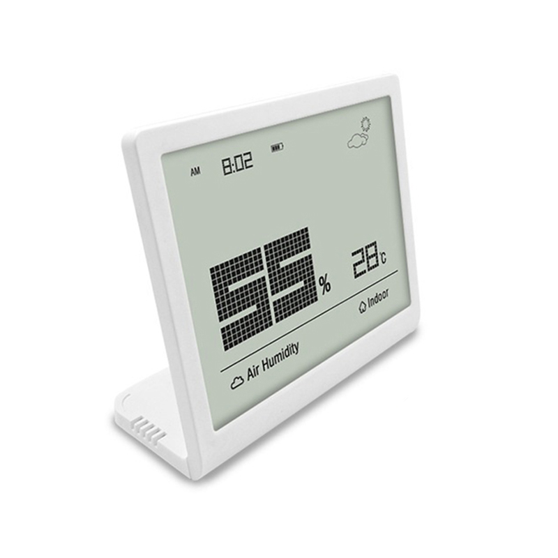 Multifunction Digital Display Indoor <strong>Temperature</strong> and Humidity Gauge Meter Thermometer Hygrometer Monitor White Color