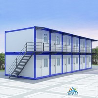 Low-cost mobile office container homes