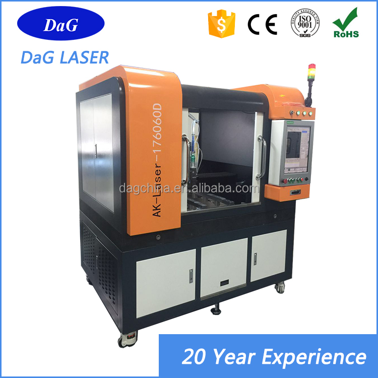 Low cost table top 300w 500w small size mini cnc laser cutting machine manufacturers