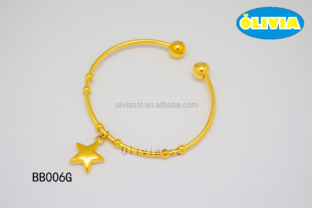 fashion china supplier accessories for women bangles gold