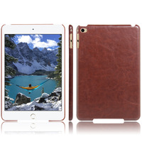 2016 New Crazy Horse PU leather case cover for ipad mini 4 back case