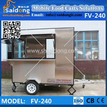 Best quality Mobile kebab van/fast food trailer for sale