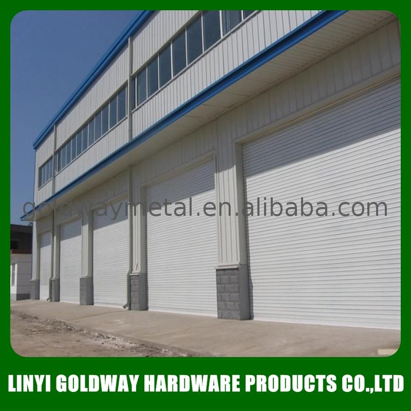 roll up door materials