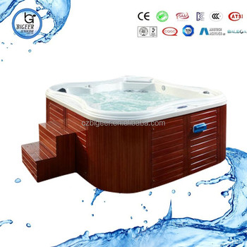 Classical series portable Spa tub Clear acrylic bathtub Hot tub sex tub BG-8815