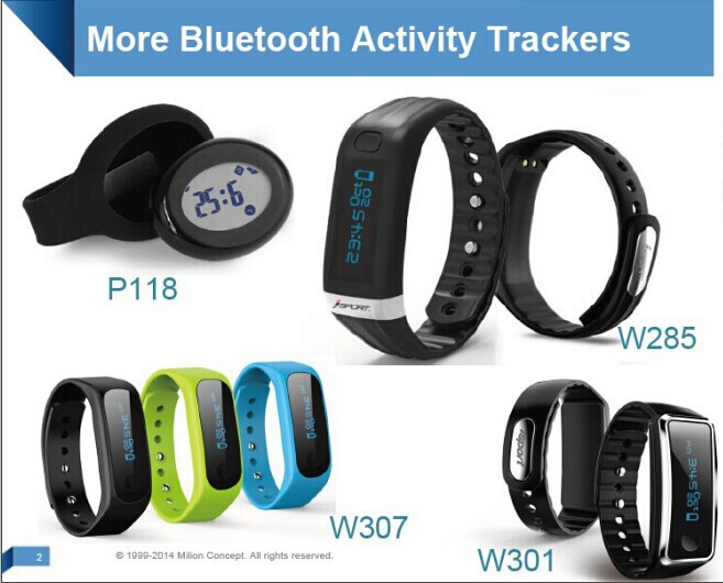 2017 IOS/Android Compatible Fitness Tracker Smart Bracelet with Phone Call/SMS Notification