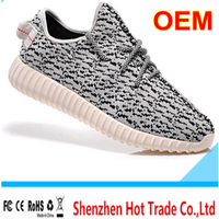 2016 cheap branded casual running sneaker kanye men running shoes for yeezyes 350