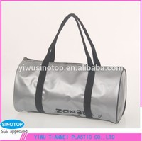 5L silver portable travel waterproof duffel bag for motorcycle