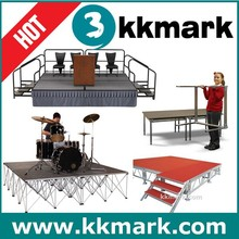 Light Weight Mobile Portable Stage/Wstage Easy to take