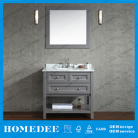 Free Standing Used Bathroom Vanity Cabinets Made in China Bathroom Cabinet Basin