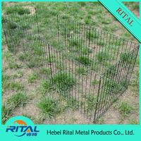 panels heavy duty folding wire mesh fence for animals