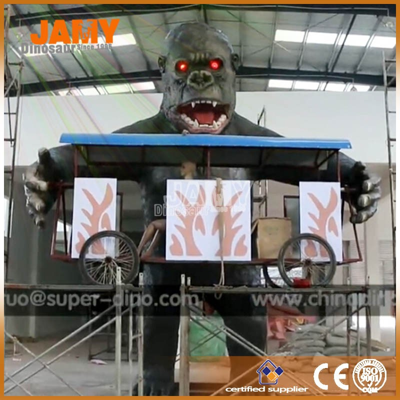 Custom Animatronic Animal Model of Gaint Mechanical King kong for Park