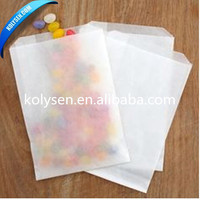 Sandwich wrapping paper rolls for bag making