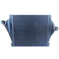 Air and water intercooler car cooling system