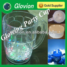 Luminous Beer Glass for chritsmas Xmas holiday party brithday plastic beer glass with LED Drinking Glass Beer Cup Mug