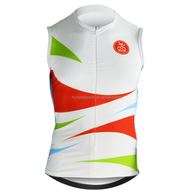 Customized Sublimation Breathable and Anti-pilling Cycling Wear Cycling Singlet Triathlon Top Running Slnglet