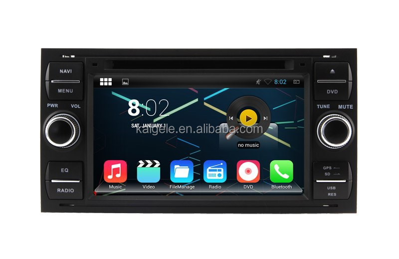 2015 Wholesale Android Car DVD Player Car Unit For Ford Mondeo2003-2007 Double Din