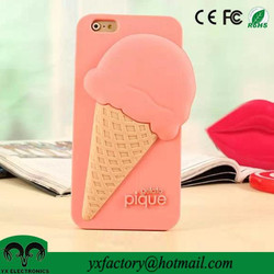 cute mobile phone case factory for iphone 6 case silicone