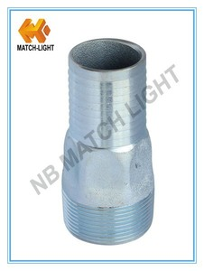 Stainless Steel Hex Type KC Nipple Hose Fitting