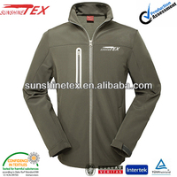10000mm waterproof hi vis softshell jacket for men