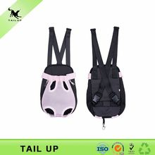 Breathable pink pet backpack carrier for dogs summer style