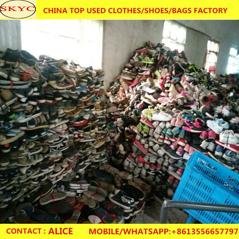 Fairly used shoes wholesale second hand shoe in new york