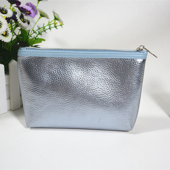 Matt Sliver PU Bag Wholesale Women Cosmetic Bag Small Pouch