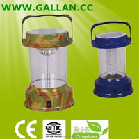 Good quality AC Rechargeable Camping Lantern/LED Lantern/Solar Lamp Color of Red Green camouflage color