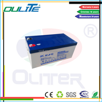Wholesale price!12V 250AH Street Slolar System Energy Storage Battery for Dubai