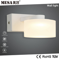 New arrival headboard washroom warm white wall light with switch