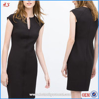 Custom Latest Fashion Dresses Tailored All Types Of Ladies Dresses Wholesale Clothing Market Tube Dress With Raglan Sleeves