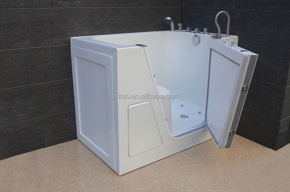 large plastic walk in tubs/foshan walk in bathtubs/for old and disable/USacrylic tubs