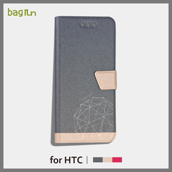2016 Design Ultra slim Phone Case PU Leather Phone Cover for HTC One A9 with Stand Function Case