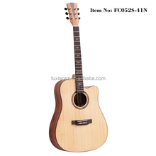 "41"" solid spruce Travel acoustic guitar shop"