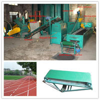 Best selling old tyre powder production line for the scrap tire processing