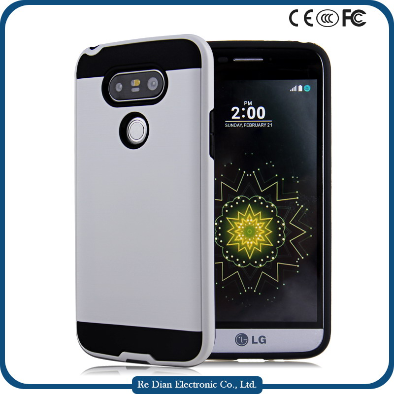 New design TPU + PC bumper fancy mobile phone case for LG G5