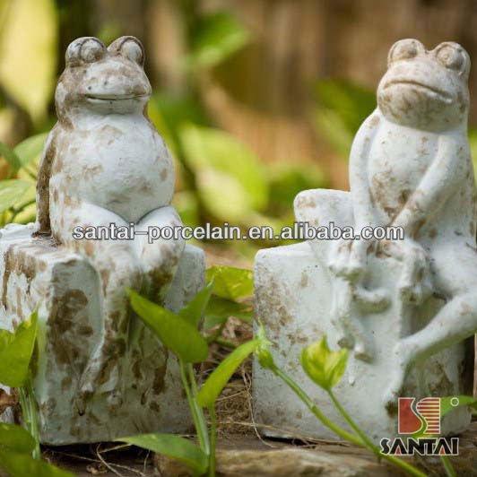 Jard n estatua de la rana estatuas identificaci n del - Estatuas de jardin ...