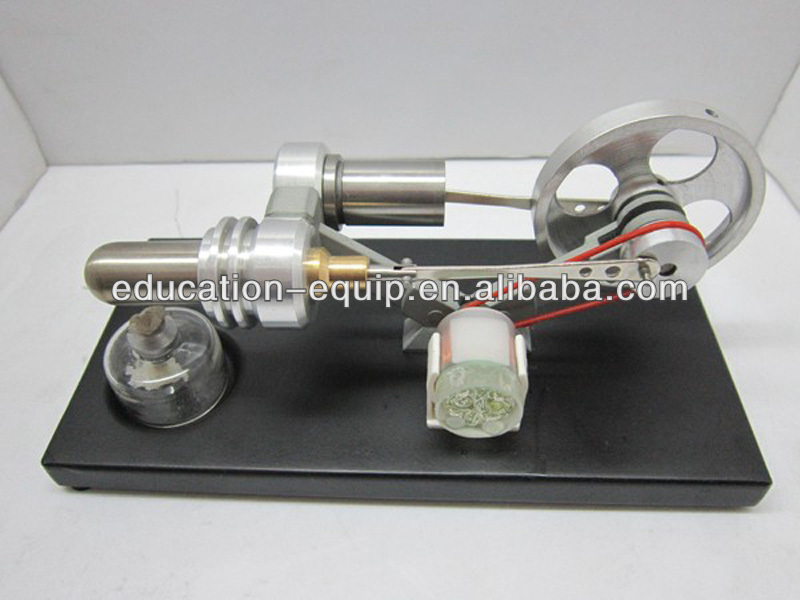 SE47003 Stirling Engine Model with Generator and LED Light
