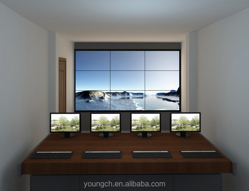 Shanghai number one team provides high quality 47 inch ultra narrow bezel lcd video wall 4k the top product in the market relied