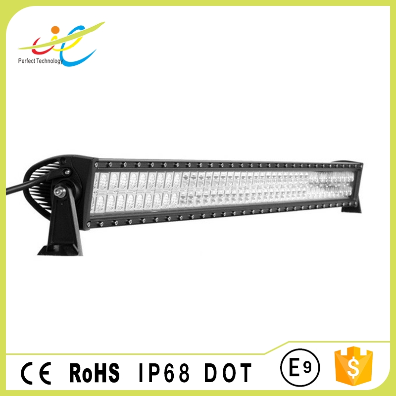 52inch 300W dual row cheap 4x4 offroad led light bar off-road car roof light bar