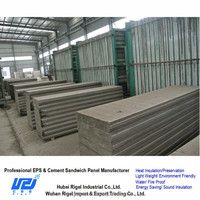 Expanded polystyrene sheet sound insulation precast concrete fence panels