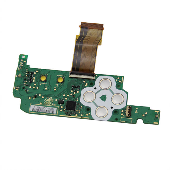 Original Replacement Power Switch Button Board D Pad ABXY Button Board For NEW 3DS XL Console (Pulled)